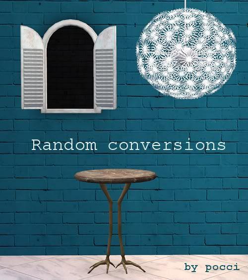 random conversions
